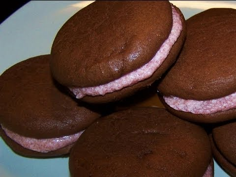 Chocolate Raspberry Whoopie Pies Recipe - Gluten Free