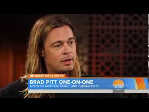 Brad Pitt talks turning 50 and '12 Years a Slave' role