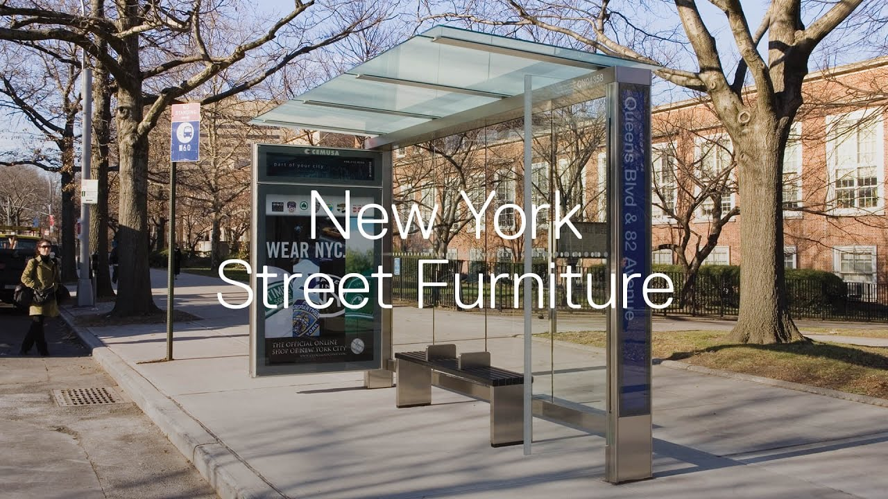 New York Street Furniture YouTube - New york furniture