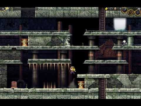 Lets Play La Mulana 2 - Demo - EgLana Introduction
