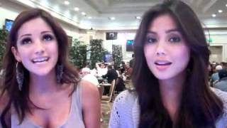 Melanie Iglesias & Mica Javier sing Backstreet Boys I Want It That Way