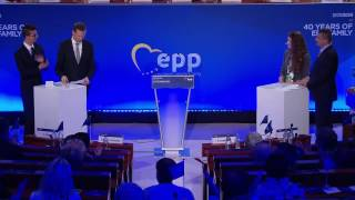 40 years of EPP - EPP Facebook contest winners debate