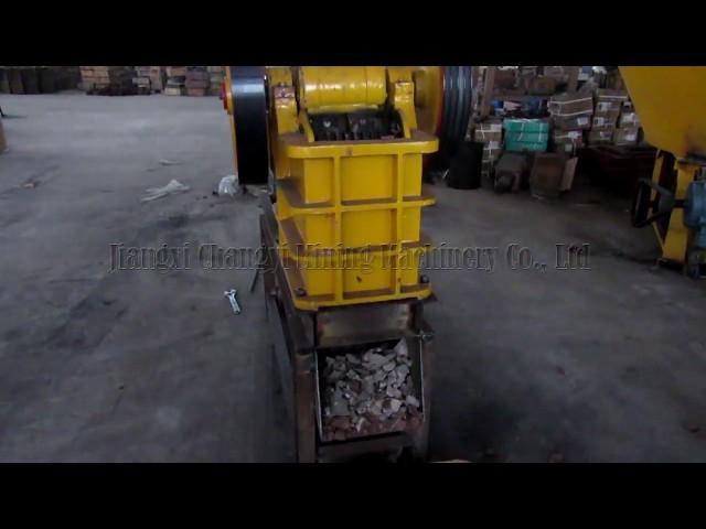 Mining rock ore jaw crusher