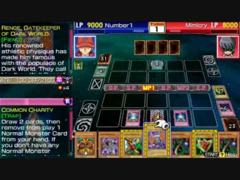 Yu Gi Oh GX Tag Force 3  Exodea Deck  0TK (zero Turn Kill)
