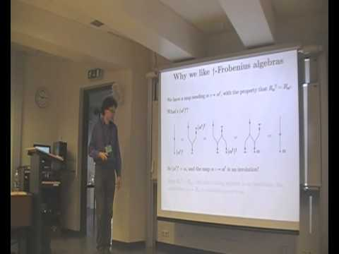 "Jamie Vicary: ""Categorical formulation of finite-dimensional C*-algebras"""
