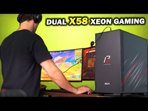 """Dual X58 """"Phantom Gaming PC"""" - Can 2 x X5677 Xeons and a 5500 XT STREAM at over 144 FPS...?"""