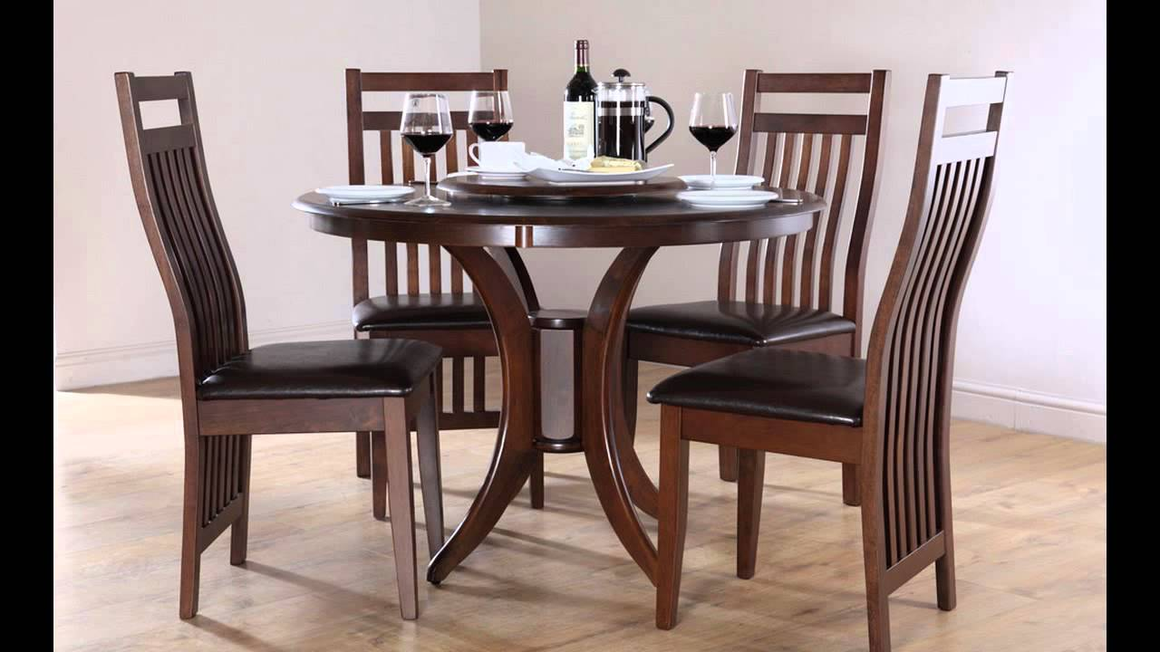 cheap dining room table and chair sets | Cheap Dining Tables and 4 Chairs - YouTube