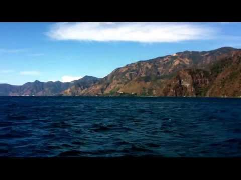 Boat trip at lake Atitlan. José E. Chang Tour Guide