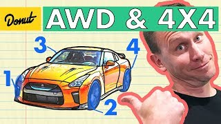 AWD VS 4x4 | How it Works | Donut Media