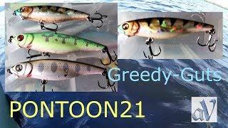 Greedy-Guts один из любимых воблеров.Мой небольшой опыт 👌😁👍