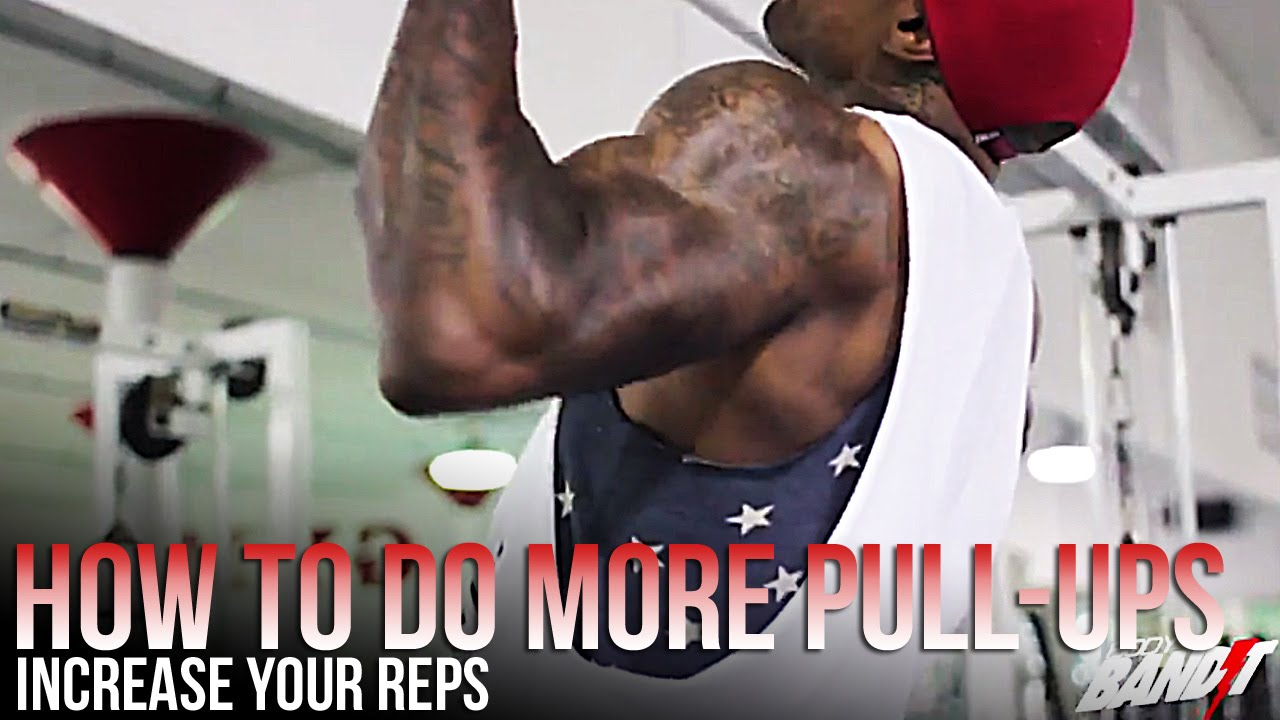 How to do more pull ups (how we increased our reps)