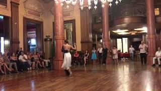 Marianne et Mauricio à Aix les Bains Tango Festival 2