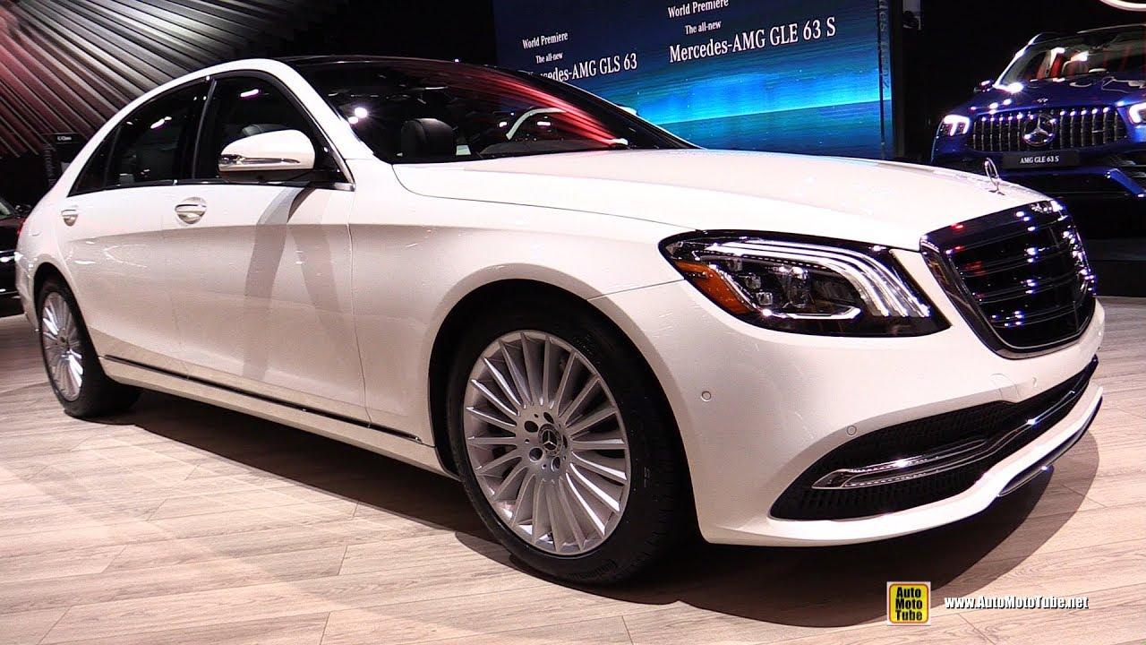 2020 Mercedes S560 4Matic - Exterior Interior Walkaround - 2019 LA Auto Show