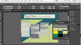 How to create an academic Poster in Indesign