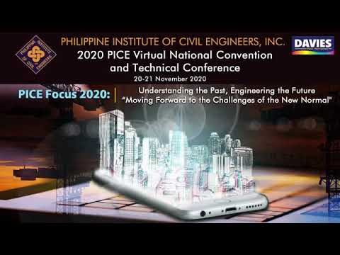 2020 PICE Virtual National Convention and Technical Conference (Day 1 – Part 1)