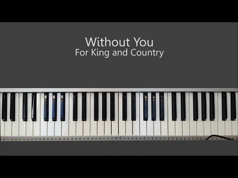Piano without you piano chords : Vote No on : ntry Piano Tutorial Chor