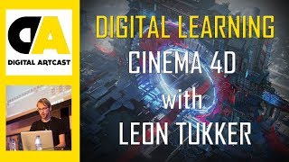 Cinema 4D World Building with Leon Tukker