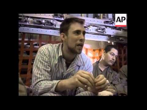 GWT: Pentagon video of released US POWs on flight from Iraq