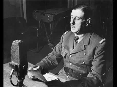 discours du 8 juillet 1940 (de GAULLE explique Mers-El-Kébir)