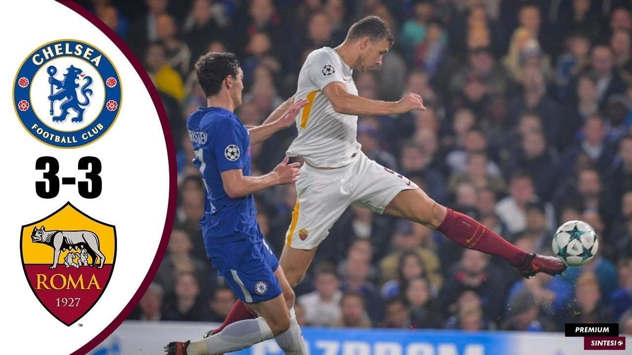 Download CHELSEA-ROMA 3-3 - All Goals & Highlights - 18/10/2017 HD