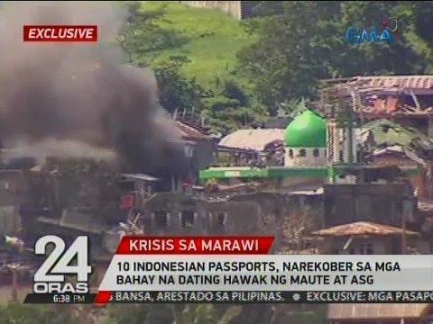 24 Oras Exclusive: 10 Indonesian passports, narekober sa mga bahay na dating hawak ng Maute at ASG