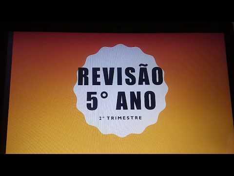 Revisão de Português (2º Tri) para 5º ano (Professora Miriam)
