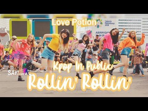 [ KPOP DANCE IN PUBLIC CHALLENGE ] PRODUCE48 (프로듀스48) - Rollin' Rollin' By SAYCREW From Indonesia