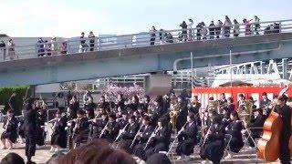 魚崎中学校吹奏楽部 「アーモンド並木と春の音楽会」
