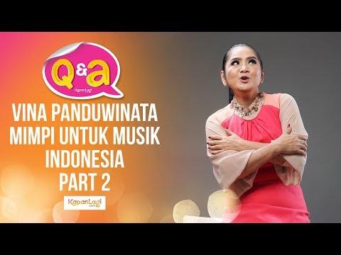 Impian Vina Panduwinata untuk Musik Indonesia