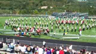 Mansfield University Marching Band - Hill Where the Lord Hides - at MU 9-19-09