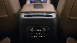 homepage tile video photo for All-New 2021 Chevy Tahoe and Suburban - Power Sliding Center Console | Chevrolet
