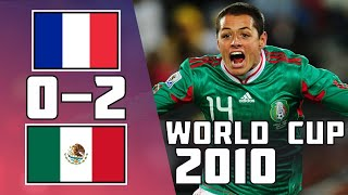 France VS Mexico 0 2 Goals Highlights World Cup 2010