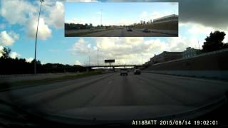 Houston's Spaghetti Bowl - A Dashcam View By Gibson99