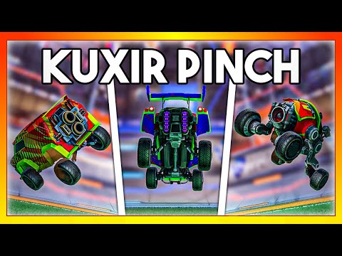 I did a Kuxir Pinch with every car in Rocket League: Which car is the fastest?