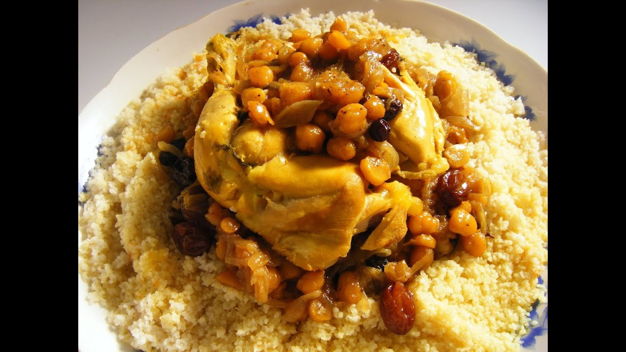 How To Make Authentic Moroccan Couscous Youtube