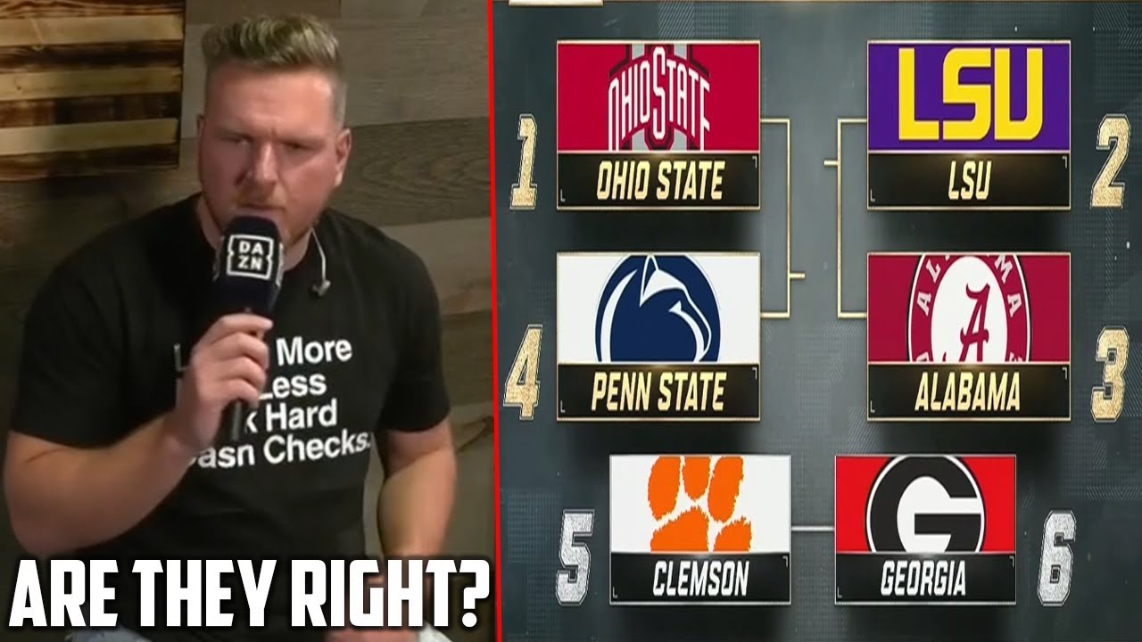 College Football Playoff Rankings reactions: Georgia overrated ...