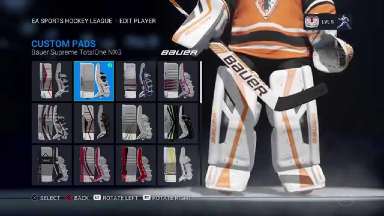 NHL 16 Custom Goalie Pads! Asiimov & Breast Cancer Awareness