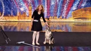 ITV Britains got Talent 2010  - Tina and Chandi - Dog Act
