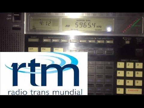 200 metre longwire: Radio Transmundial 5965 kHz,  Brazil, first reception on 49m