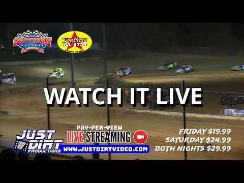 3rd Annual Bash At The Beach at Southern Raceway by Southern All Star Dirt Racing Series Promo