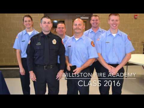 Williston Fire Academy Recruit Class #1