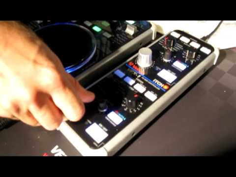 Vestax VFX1 Effect Controller for the VCI 300 - first touch