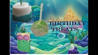 LITTLE MERMAID BIRTHDAY TREATS
