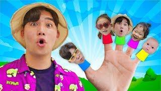 Finger Family Song | 교육으로 동요와 아기의 노래 인기동요 Mainan dan lagu anak-anak Nursery Rhymes Kids Songs