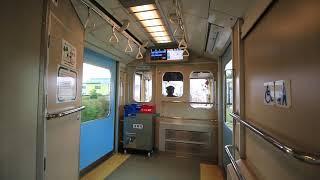 四日市あすなろう鉄道 内部線 赤堀~日永 車窓と車内風景 Yokkaichi Asunarou Railway Utsube Line, from Akahori to Hinaga (2019.2)