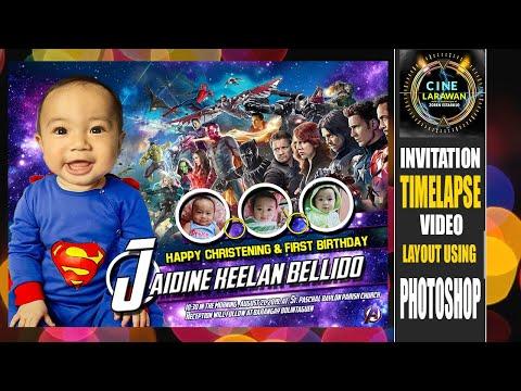 avengers||-jaidine-keelan-bellido-||-invitation-timelapse-video