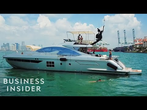 Inside A $3 Million Yacht For Rent