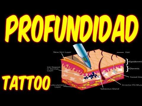 PROFUNDIDAD DE LA AGUJA EN LA PIEL AL TATUAR / CURSO DE TATUAJE tattoo fort