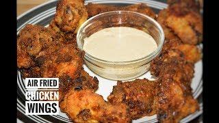 Crispy Air Fried Chicken Wings - Chicken Wings In Air Fryer - Airfryer Recipes
