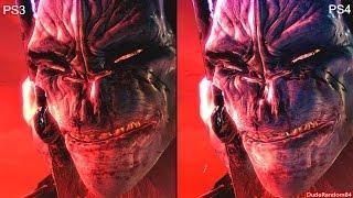 DmC Devil May Cry Definitive PS4 Vs PS3 Graphics Comparison